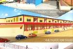 Abidjan -Adjamé vente un centre commercial presque finir