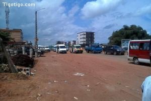 Abidjan- Cocody carrefour abata vente terrain 3ha clôturé