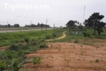 Axe Abidjan- yakro  Avant Peage Vente terrain 32444m2