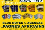 Bloc-Note en pagne Africain