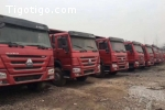 Camion SNHTC Benne Occasion de CHINE