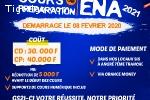 COURS DE PRÉPARATION ENA CI 2021