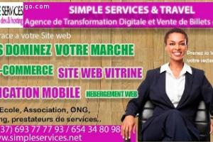 CRÉATION DE SITE WEB & APPLICATION MOBILE
