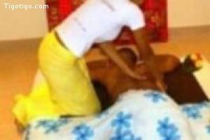 Massage doux et sensuel