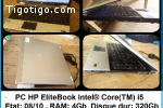 PC HP Elitebook core  I5