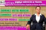 promo création de site