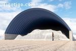 Unité mobile de construction hangars métalliques