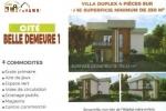 VILLAS DUPLEX MODERNES DE 4 PCES A VENDRE A BINGERVILLE