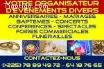 VOTRE ORGANISATEUR D'EVENEMENTS DIVERS