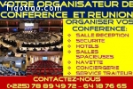 VOTRE ORGANISATEUR DE CONFERENCE  ET REUNION