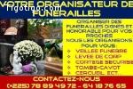 VOTRE ORGANISATEUR DE FUNERAILLES