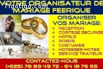 VOTRE ORGANISATEUR DE MARIAGE FEERIQUE