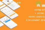 Votre site web + appli mobile + logiciel de gestion tout en